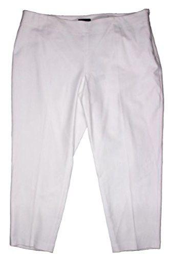 8162a635eb780 Jones New York Women s Plus Size Stretch Cotton Ankle Pants