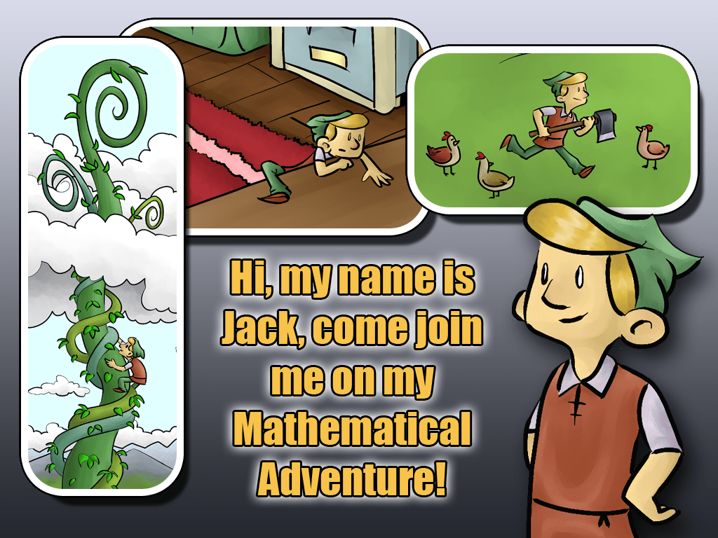 Jack And The Beanstalk A Mathematical Adventure App