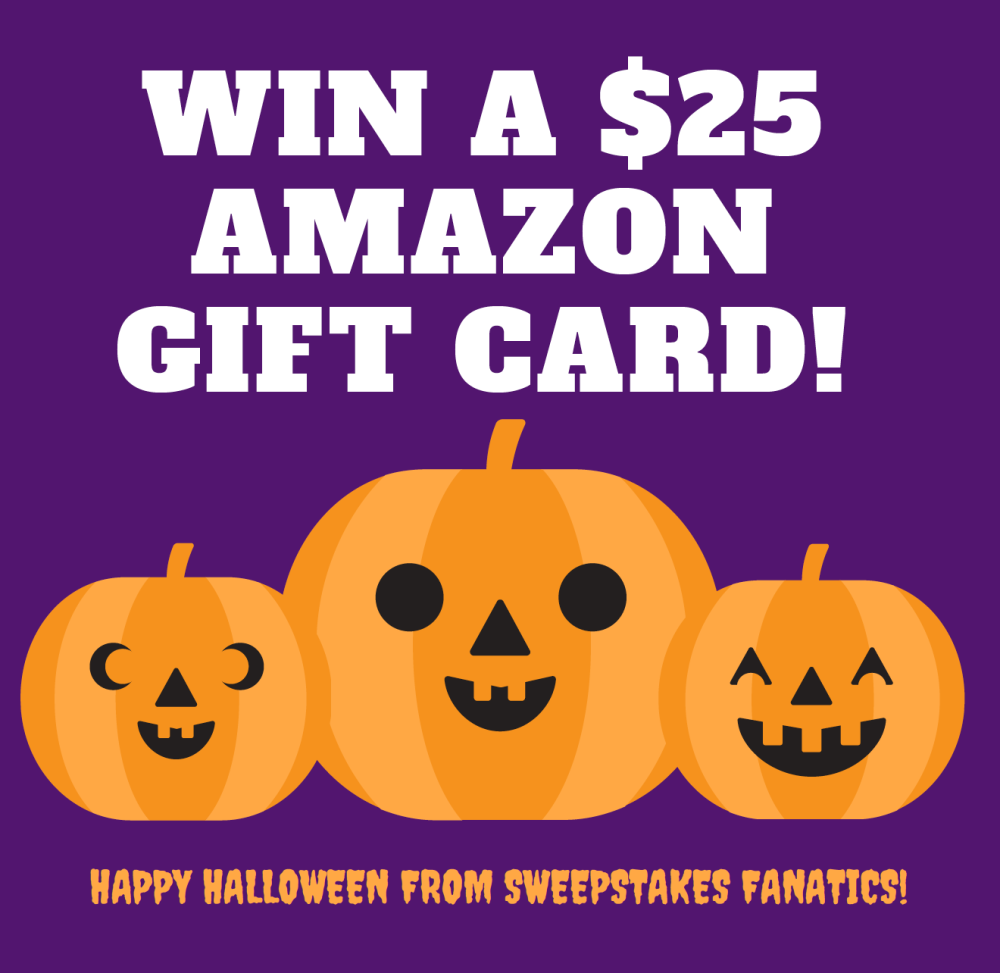 Photo of Enter for a chance to win a $25 Amazon Gift Card for Halloween!