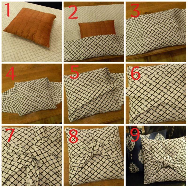 Proyek Do It Yourself Untuk Mempercantik Rumahmu Pillow Covers Pattern Creative Decor