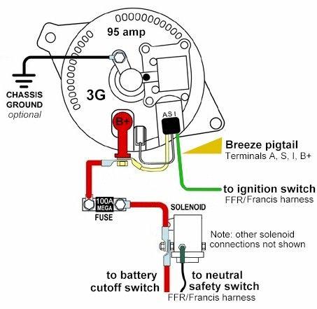 1998 Ford Ranger Alternator Wiring Diagram | omc stern