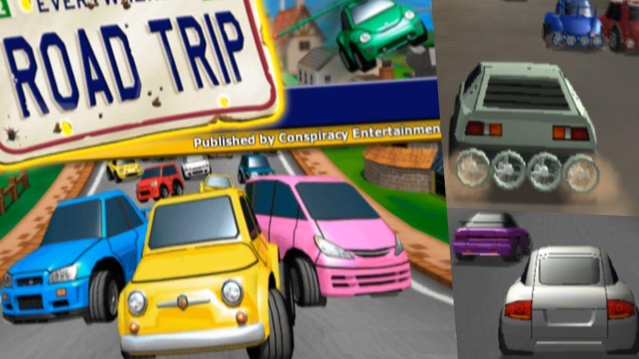 Road Trip All Tracks Gameplay Ps2 4k Road Trip Trip Road Trip Adventure