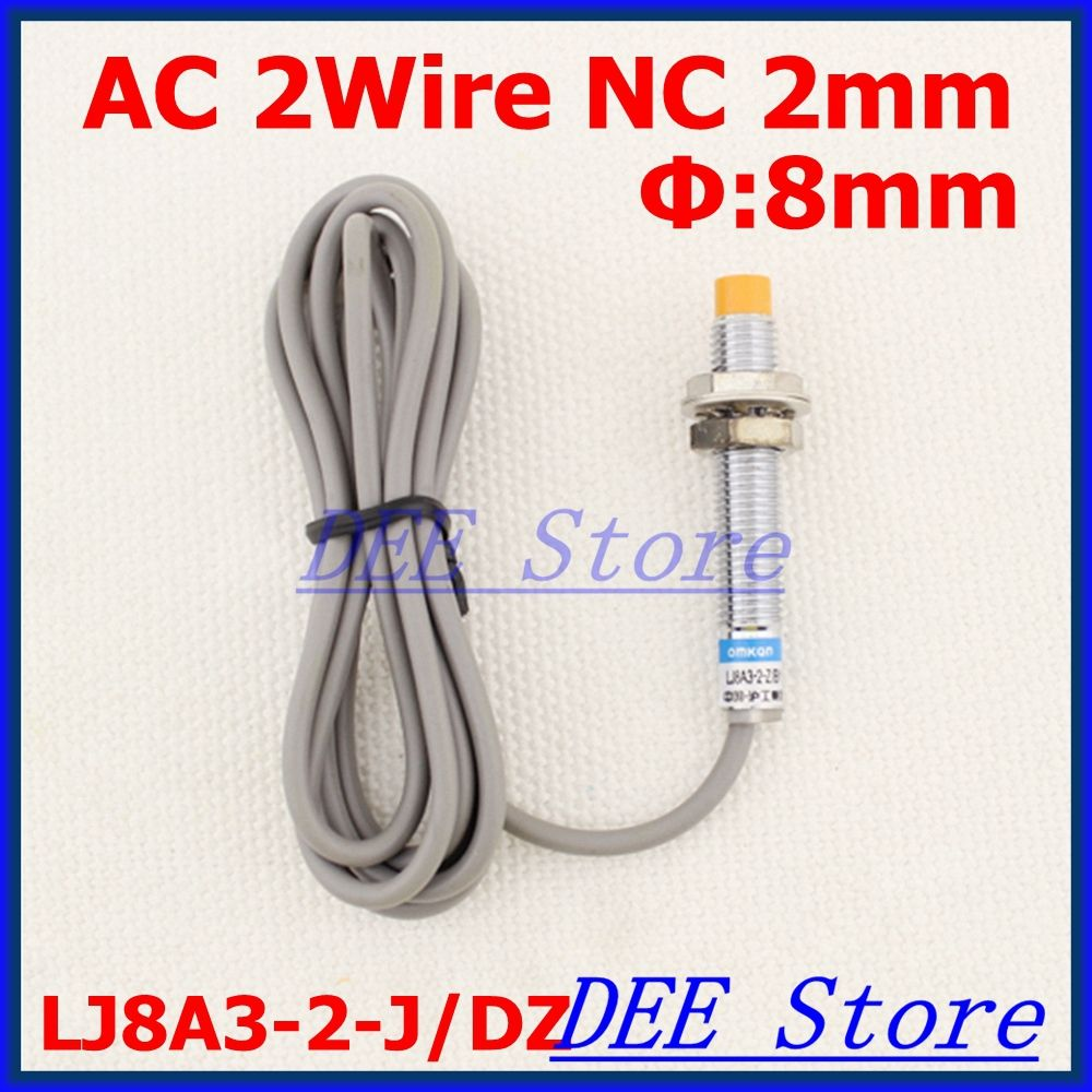 Ac90 250v 2wire Nc Ac 400ma Detection Distance 2mm M8 Proximity Inductive Sensor Switch Together With