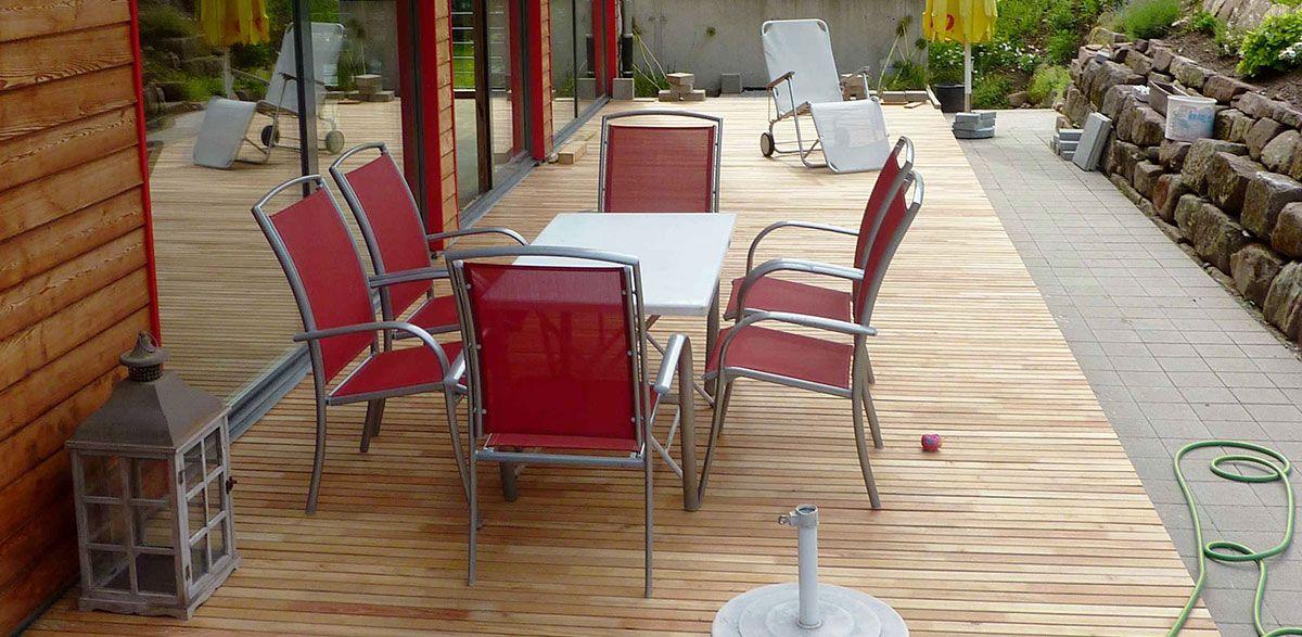 Eigenschaften Eiche terrassen aus robinie sind härter als eiche und haben die gleichen