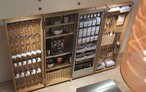 turn garage space into a kitchen using tool storage ...