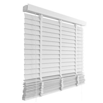 Store vénitien bois blanc - Leroy Merlin - 60x180 - 70\u20ac DIY