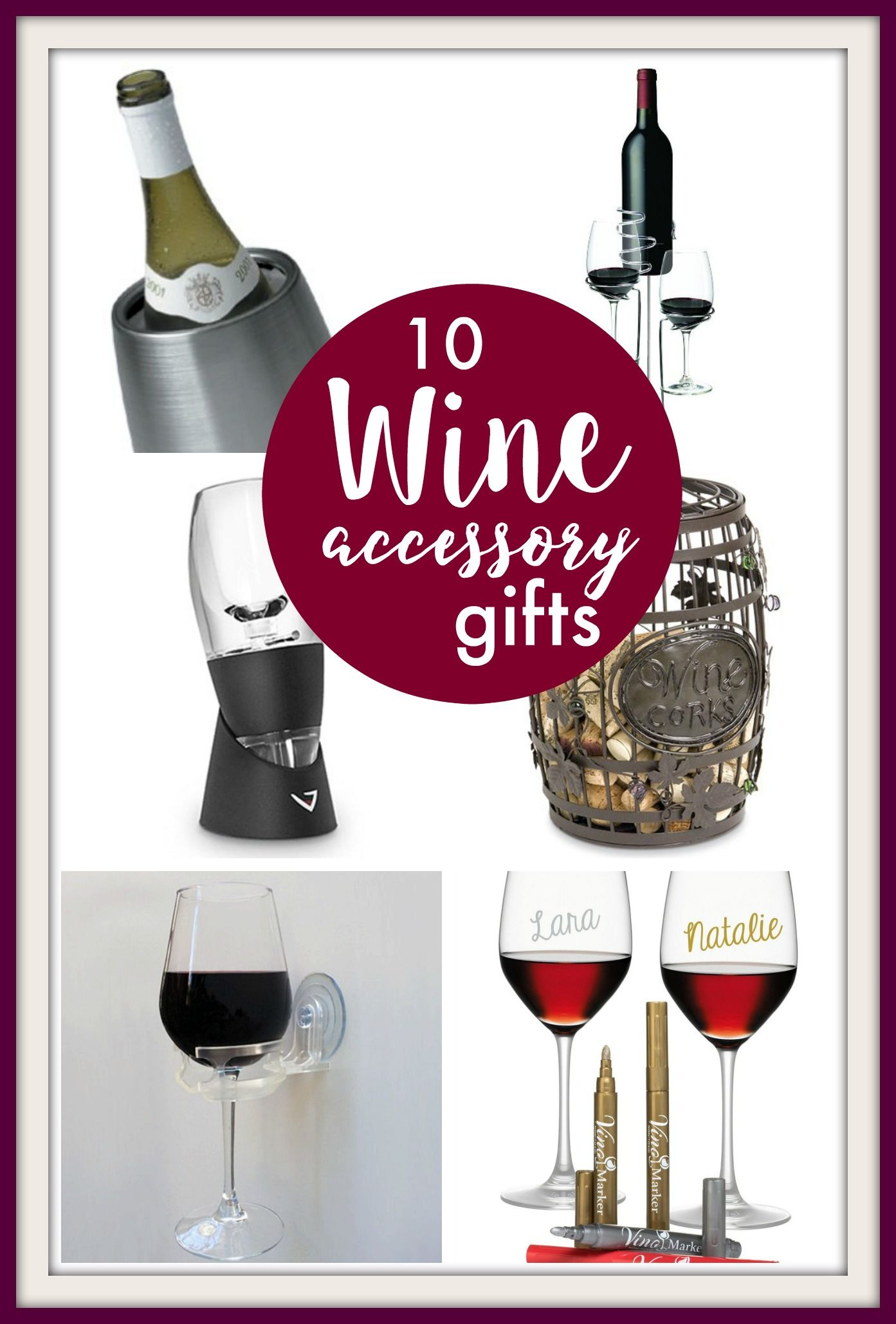 10 Great Wine Accessory Gifts Pinkwhen Wine Accessories Gift Wine Accessory Wine Gifts