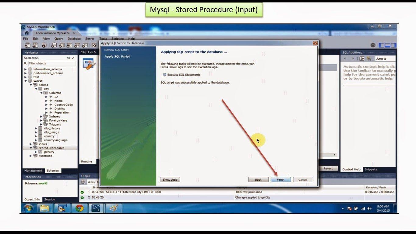 java ee: mysql - stored procedure with input parameter | j2ee
