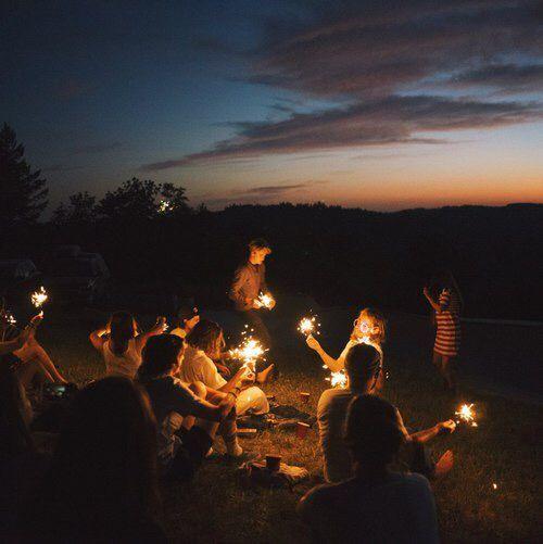 Резултат слика за summer night with friends we heart it