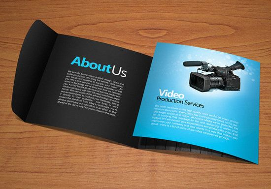 Examples Of Brochure Design For Inspiration  Webdesign Core