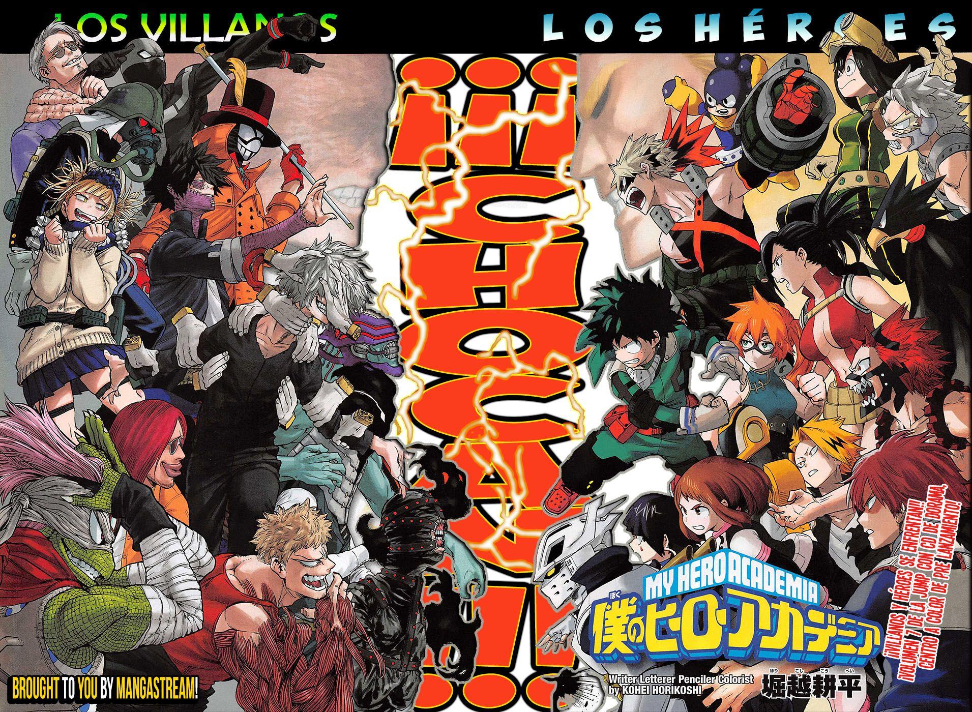 Boku No Hero Academia 76 00 Por Masterpiece Scans Con Imagenes