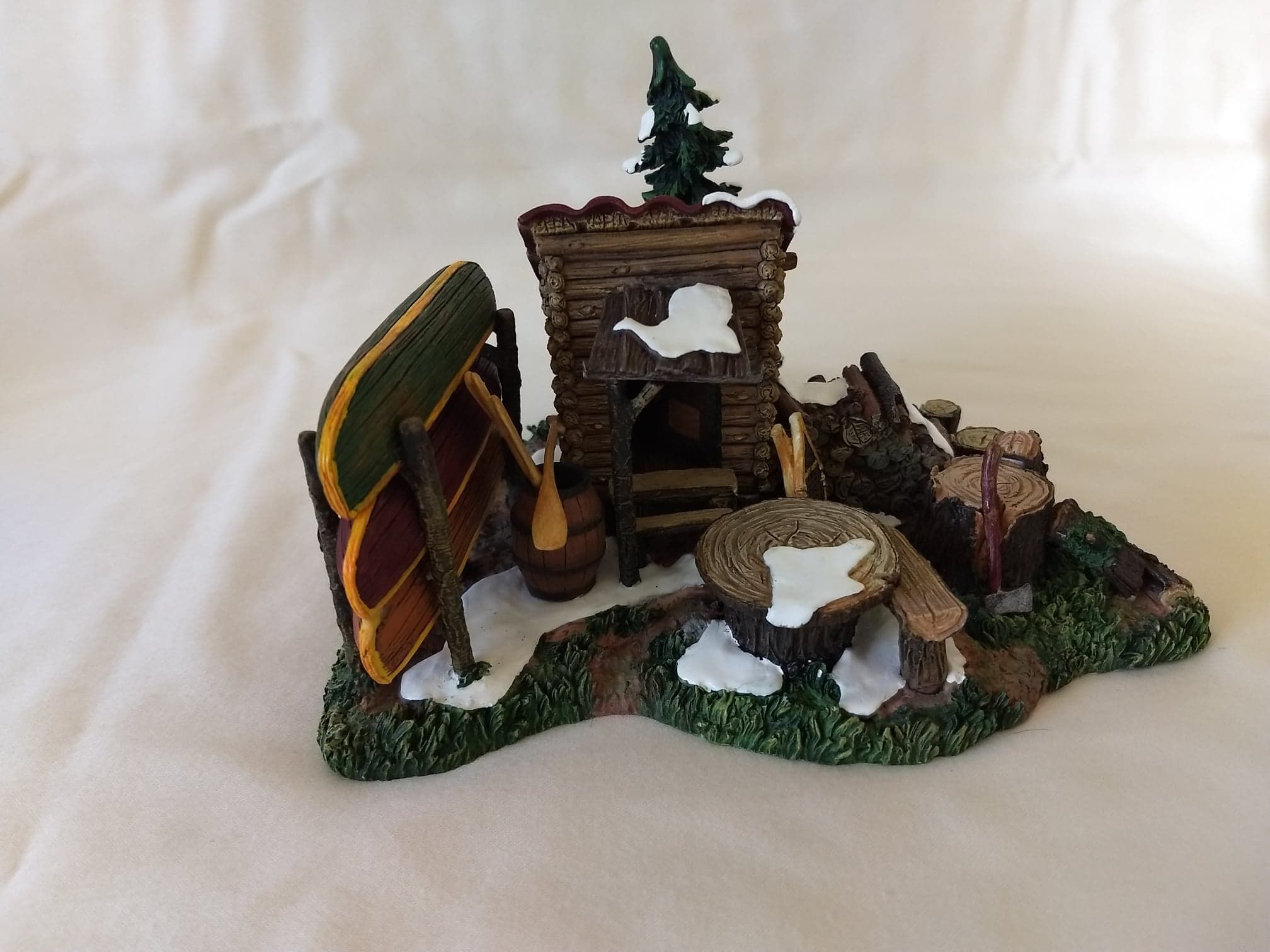 """Department 56 Village Accessories """"The Woodshed & Chopping"""