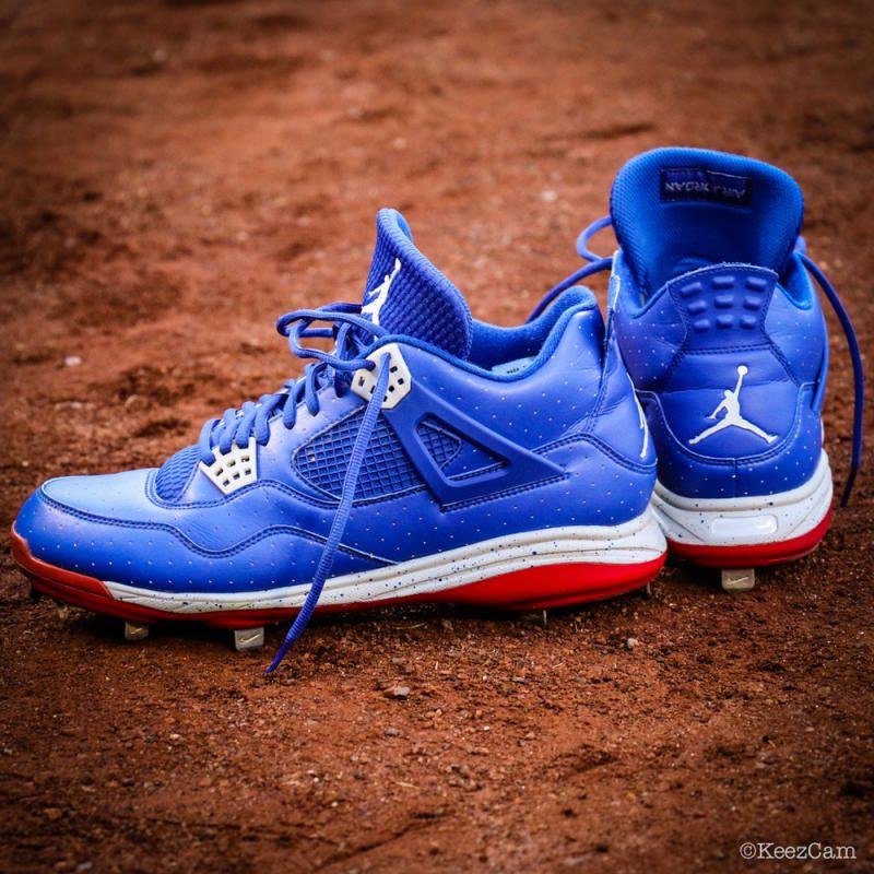 pretty nice 65905 3cfbf Take A Look At Carl Crawford s Air Jordan 4 PE Baseball Cleats