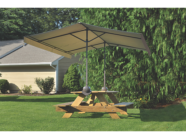 Quick Clamp Canopy Desert Bronze Canopy Patio Accessories Picnic Table