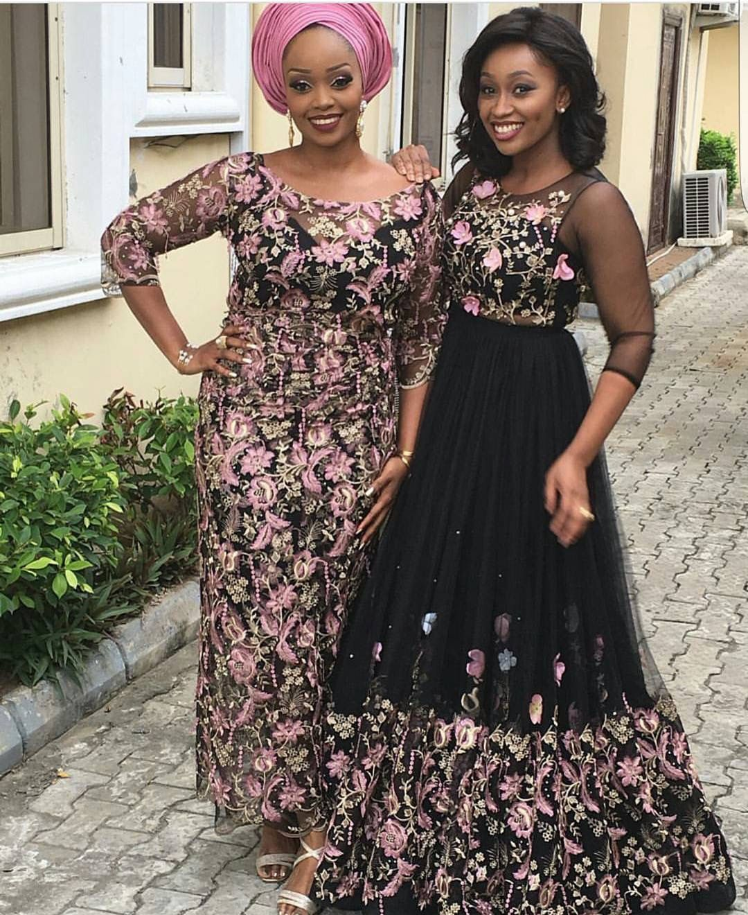 Nigerian fashionistas strut off their unique styles in sophisticated Aso-Ebi styles as they attended #Shakmatic2016's wedding on Saturday the 6th of August, 2016.Bunmi, the bride, is an Aso-Ebi fabric merchant of Bunniebees Fabrics and she ensured her wedding guests slay beautifully in...
