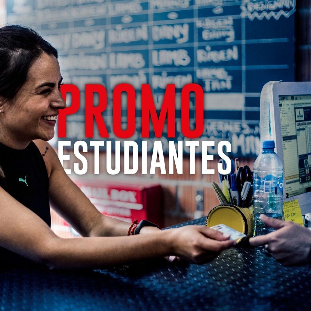 Inscripción GRATIS trayendo tu credencial de estudiante ☝🏻📚 ¡No te quedes sin entrenar con los mejor...