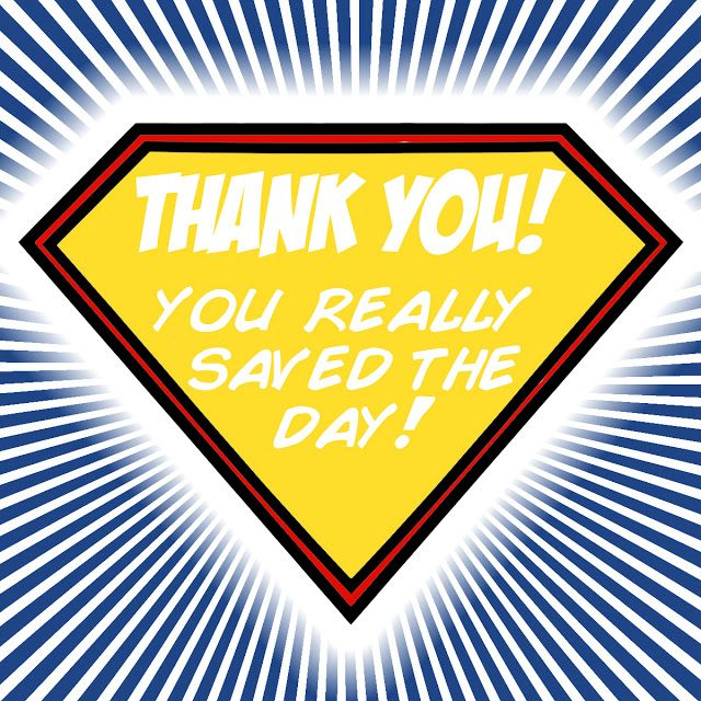 Image result for thank you SUPER heroes