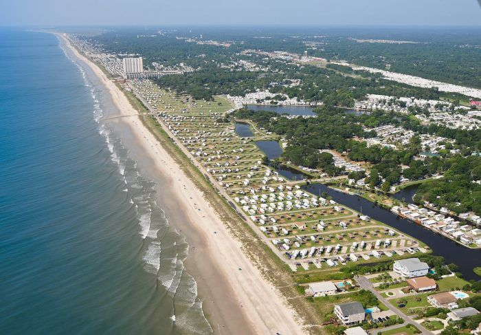 Beachside Campsites In South Carolina - Pirateland Family