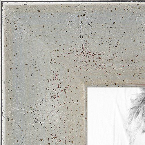 Arttoframes Wood Picture Frame 2womd1010115x30 15x30 Inch Torn Leaf Silver You Can Get Additional Silver Picture Frames Picture Frames Custom Frames Online