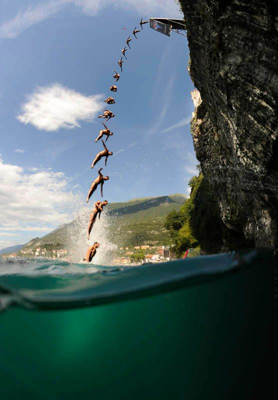 Cliff diving corsica france wanderlust diving world stunning photography cliff diving - Highest cliff dive ...