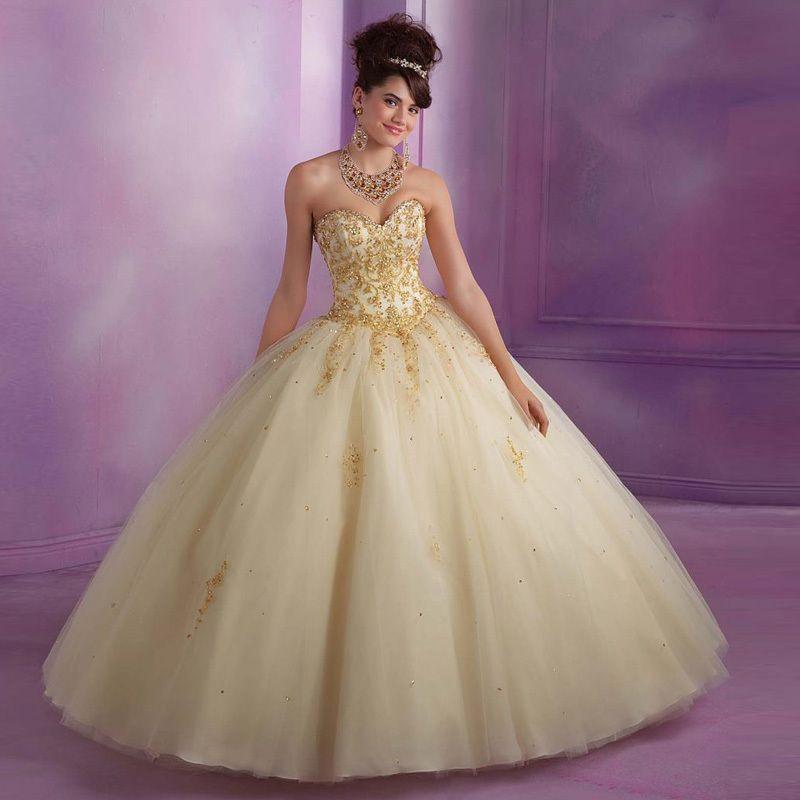 Vestido Festa 15 Anos Debutante Curto Tule Bordado Princesa