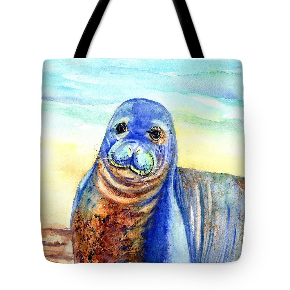 Hawaiian Monk Seal Tote Bag for Sale by