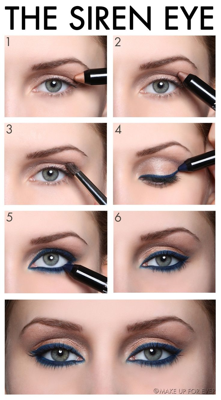 The Siren Eye Great step by step eye makeup tutorial for