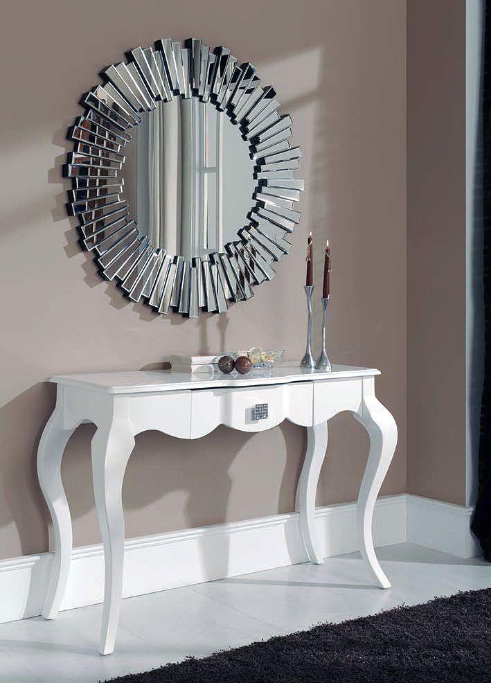 Recibidores recibidores con espejo recibidor y espejo for Consolas decoracion hogar