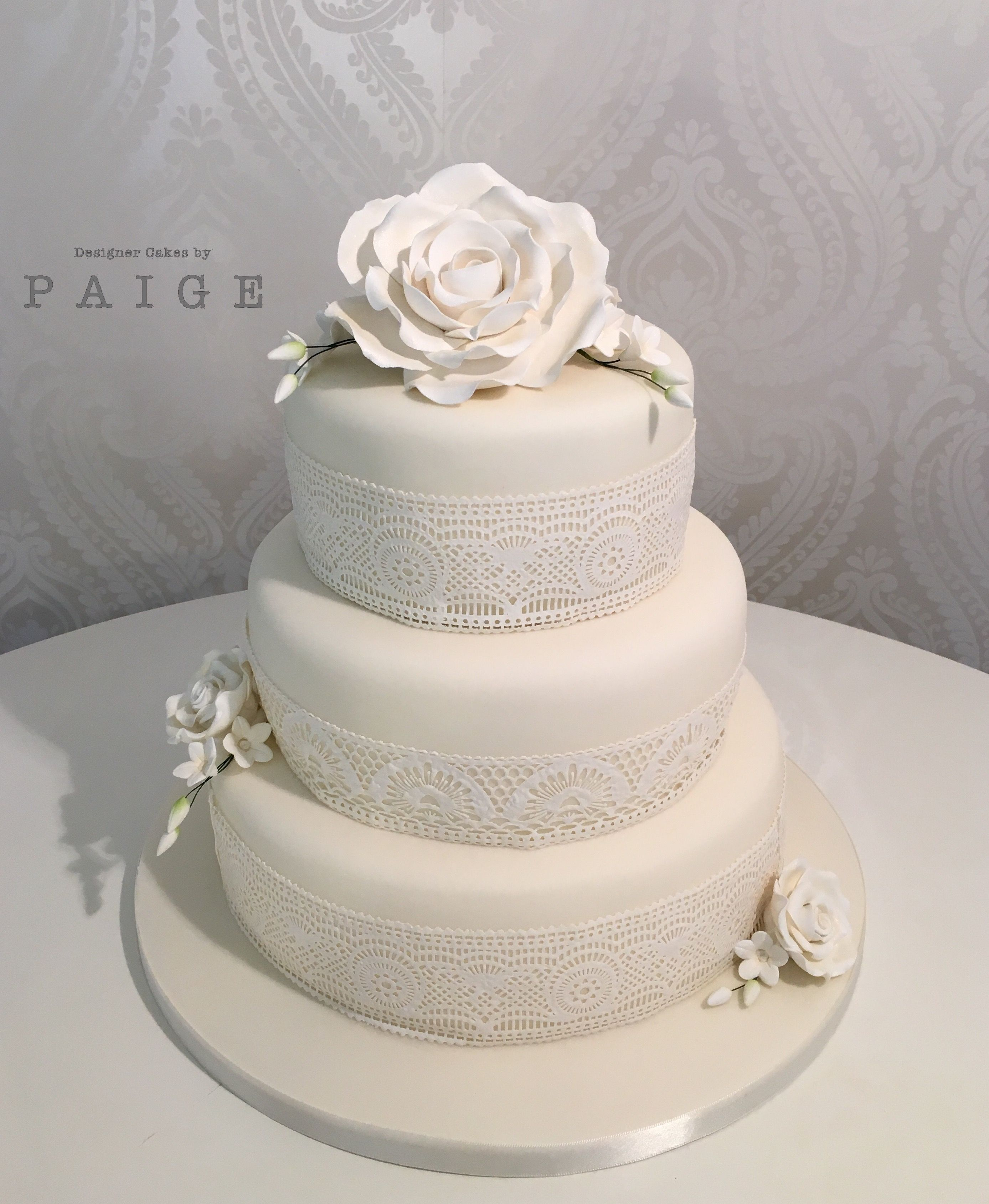 Pin by designer cakes by paige on wedding cakes pinterest