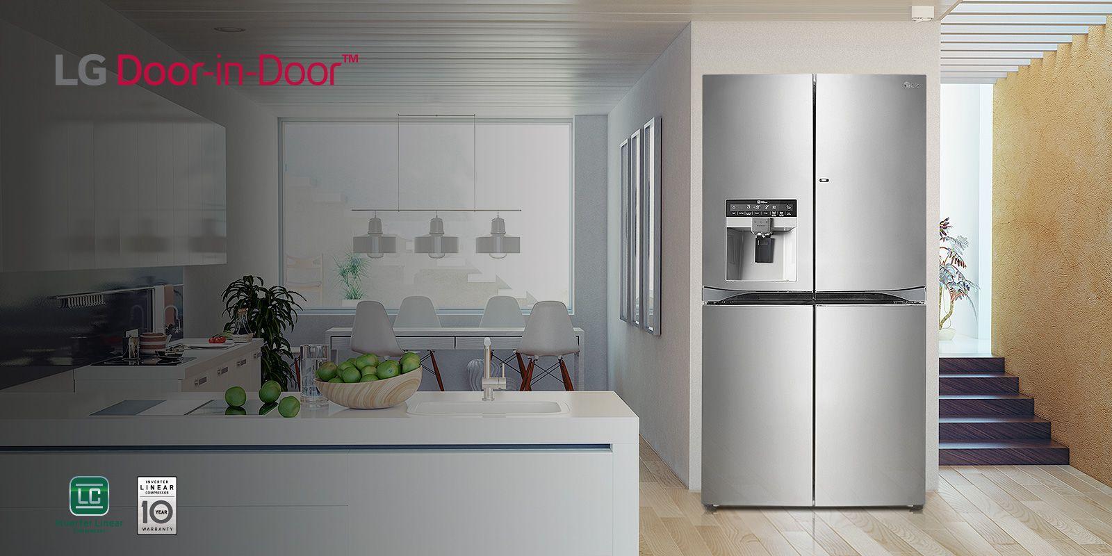 All LG Fridge Freezers | Compare Fridge Freezer Range | LG ...