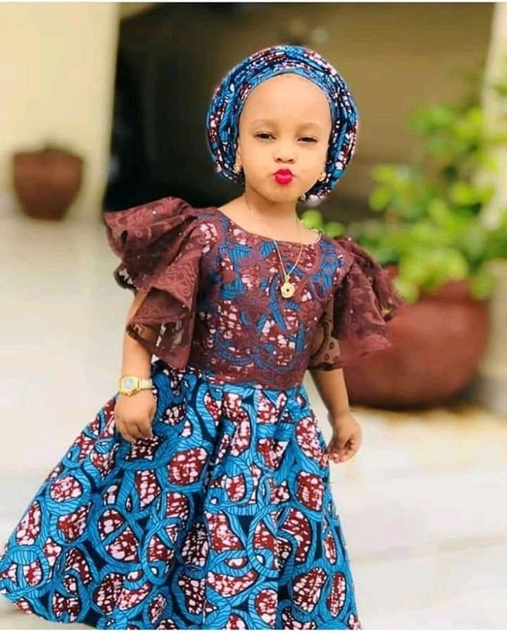 Kids Fashion: Beautiful ankara wears for kids, kid