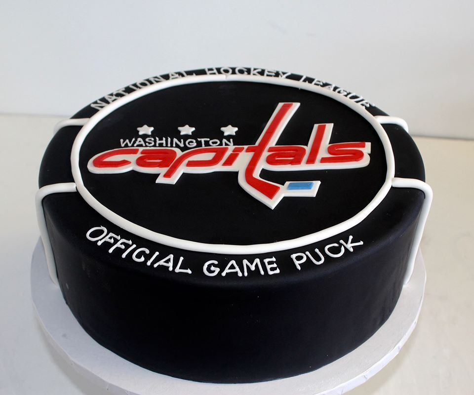 Image result for birthday cake for capital's hockey fan