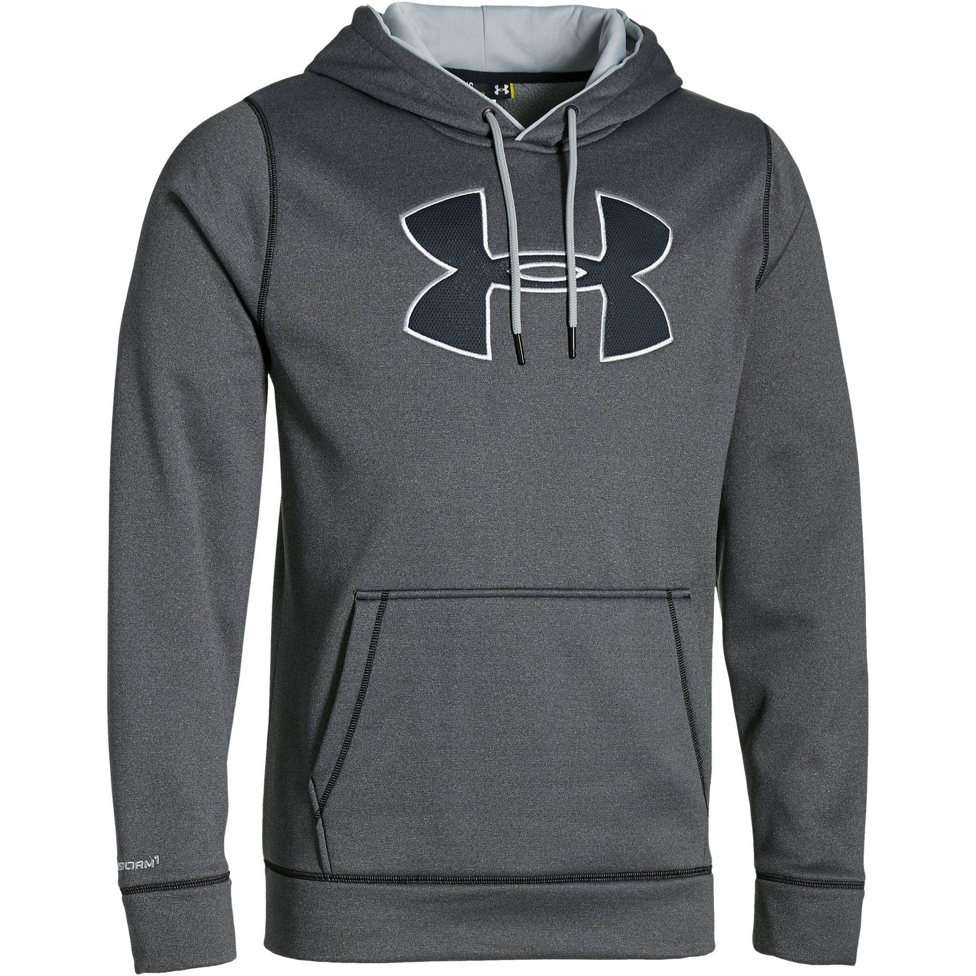 UA Storm Armour® Fleece Big Logo Men s Hoodie  2e386f74e0b
