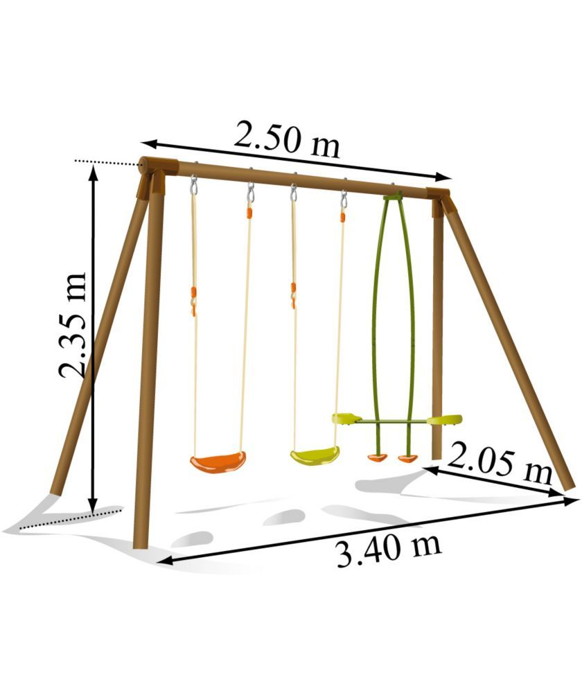 Buy Soulet Pinede Double Swing and See-Saw Swing Attatchment at ...