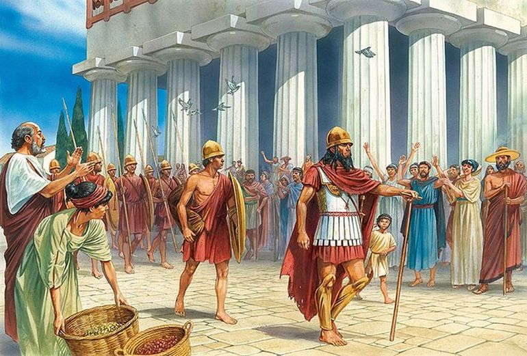 Spartans The Tough Society And Military Of The Greeks Ancient War Ancient Sparta Ancient Warfare