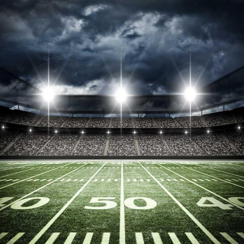 Football Stadium 50 Yard Line Backdrop 6327 Products Football