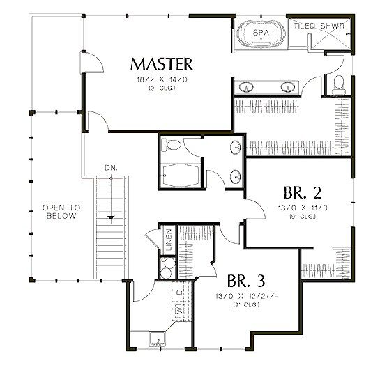 Plano de casa moderna de 2 pisos y cochera triple planos for Pisos para cochera