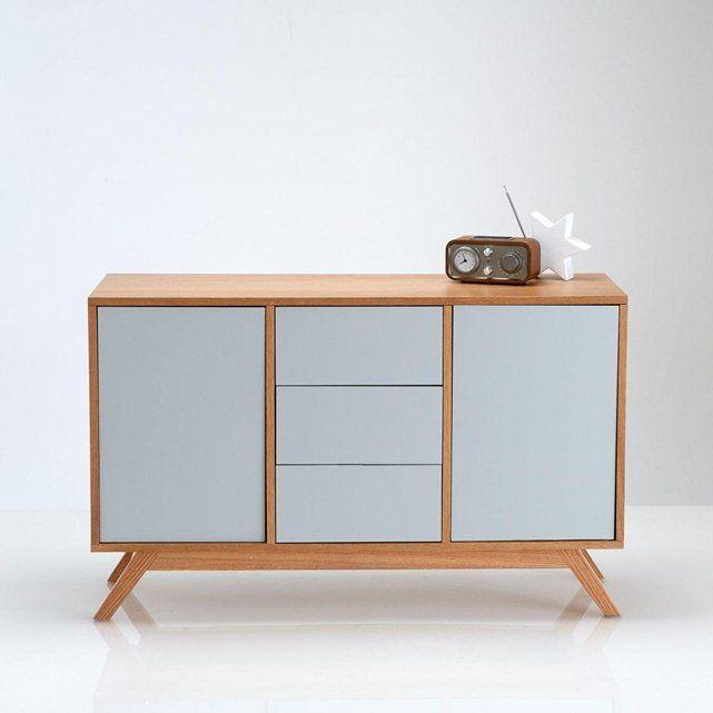 buffet d inspiration scandinave jimi la redoute interieurs inspirations pinterest buffet. Black Bedroom Furniture Sets. Home Design Ideas