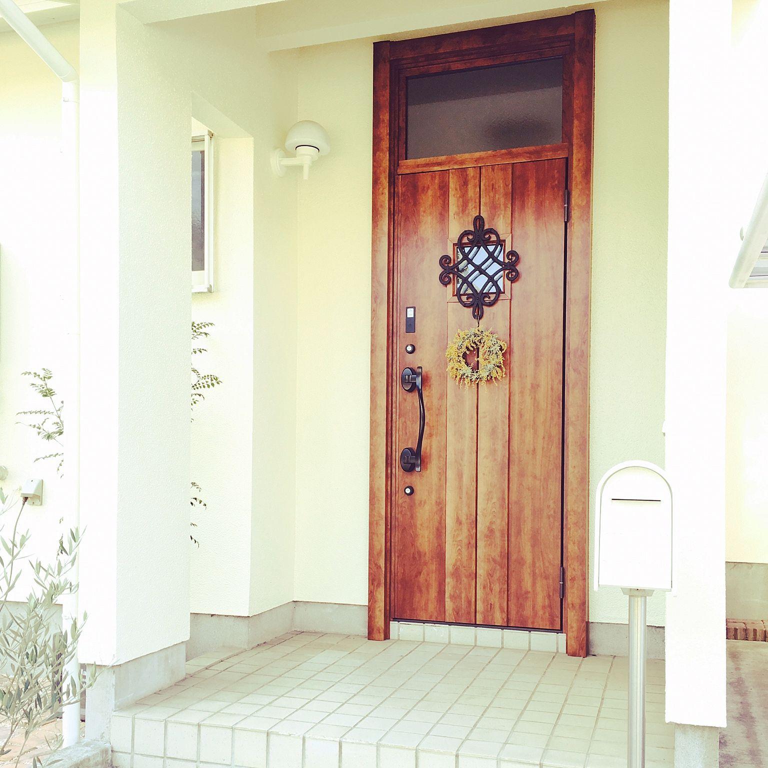 クリスマスリース リクシルの玄関ドアのインテリア実例 Roomclip