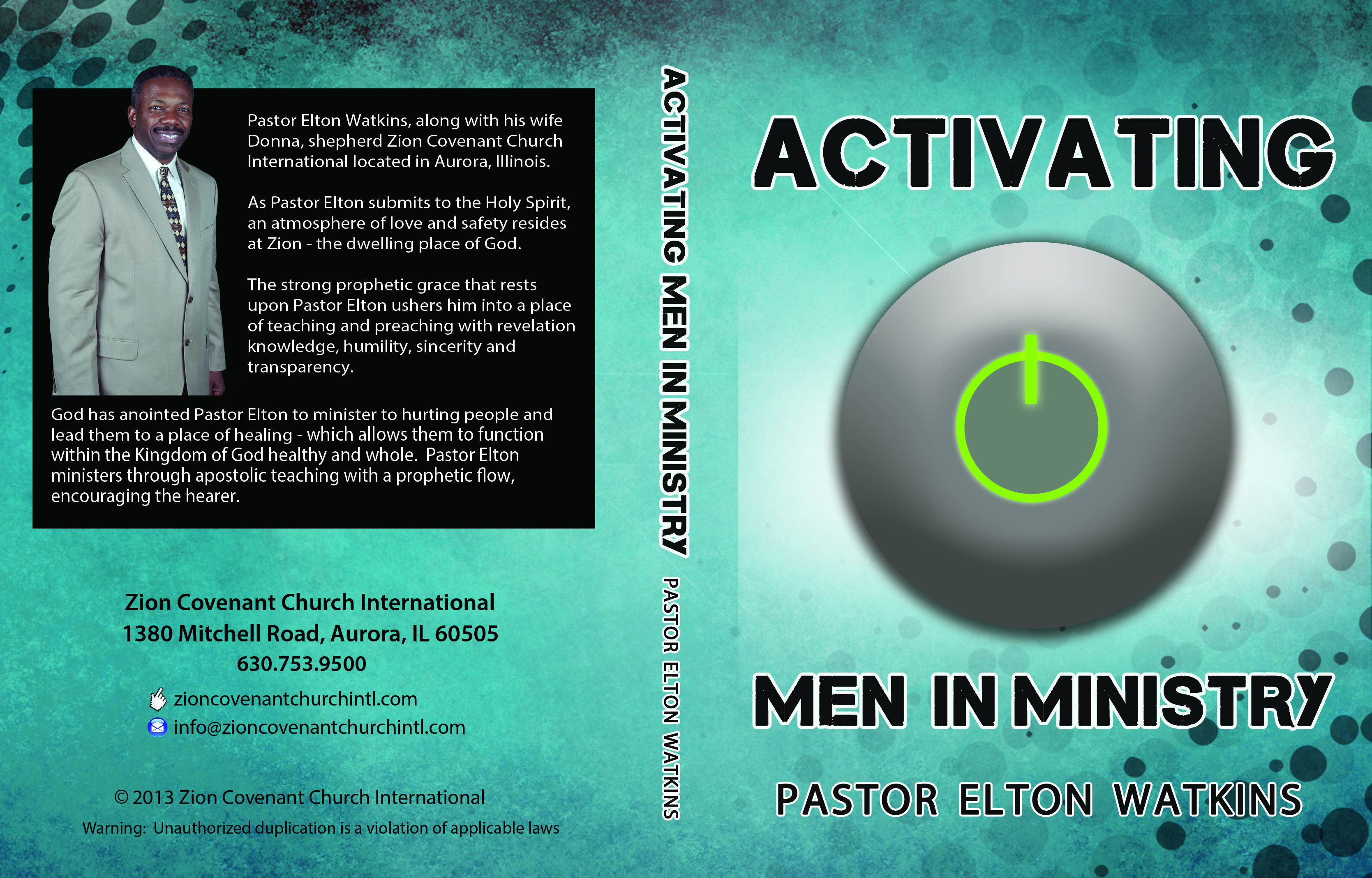 Activating Men in Ministry | CD Covers | Poster, Movie