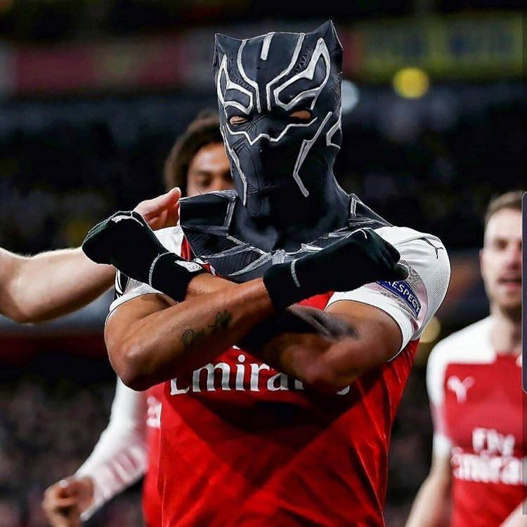 Aubameyang I Needed A Mask Which Represents Me It S The Black Panther And In Africa In Gabon We Call The National Team The Black Calcio