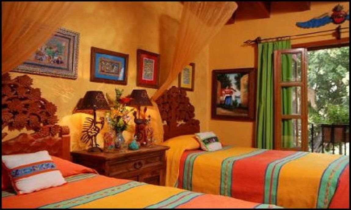 Traditional mexican interior design ideas serape duvet cover rustic