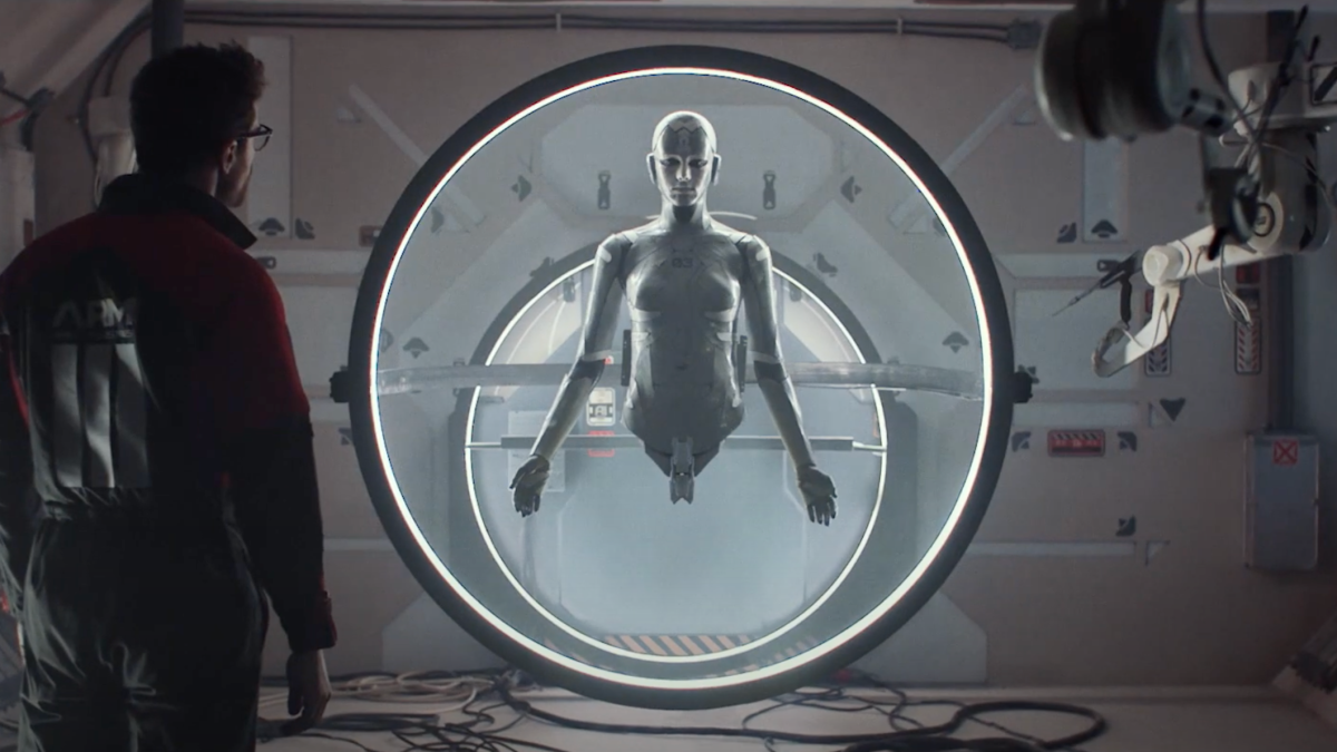 Ex Machina Meets Black Mirror In The First Trailer For Archive Movies Sci Fi Black Mirror