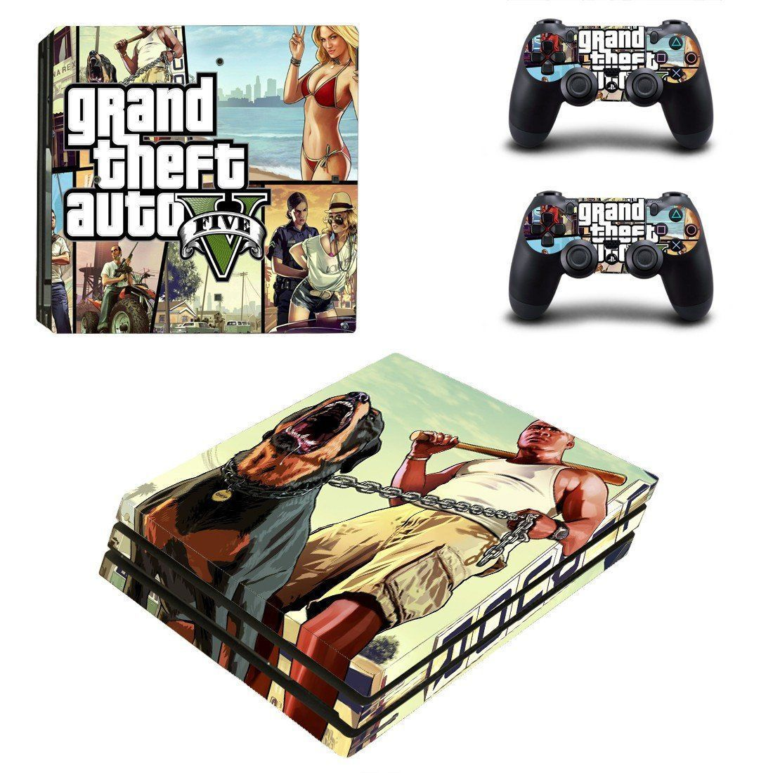 Gta 5 ps4 pro edition skin decal for console and