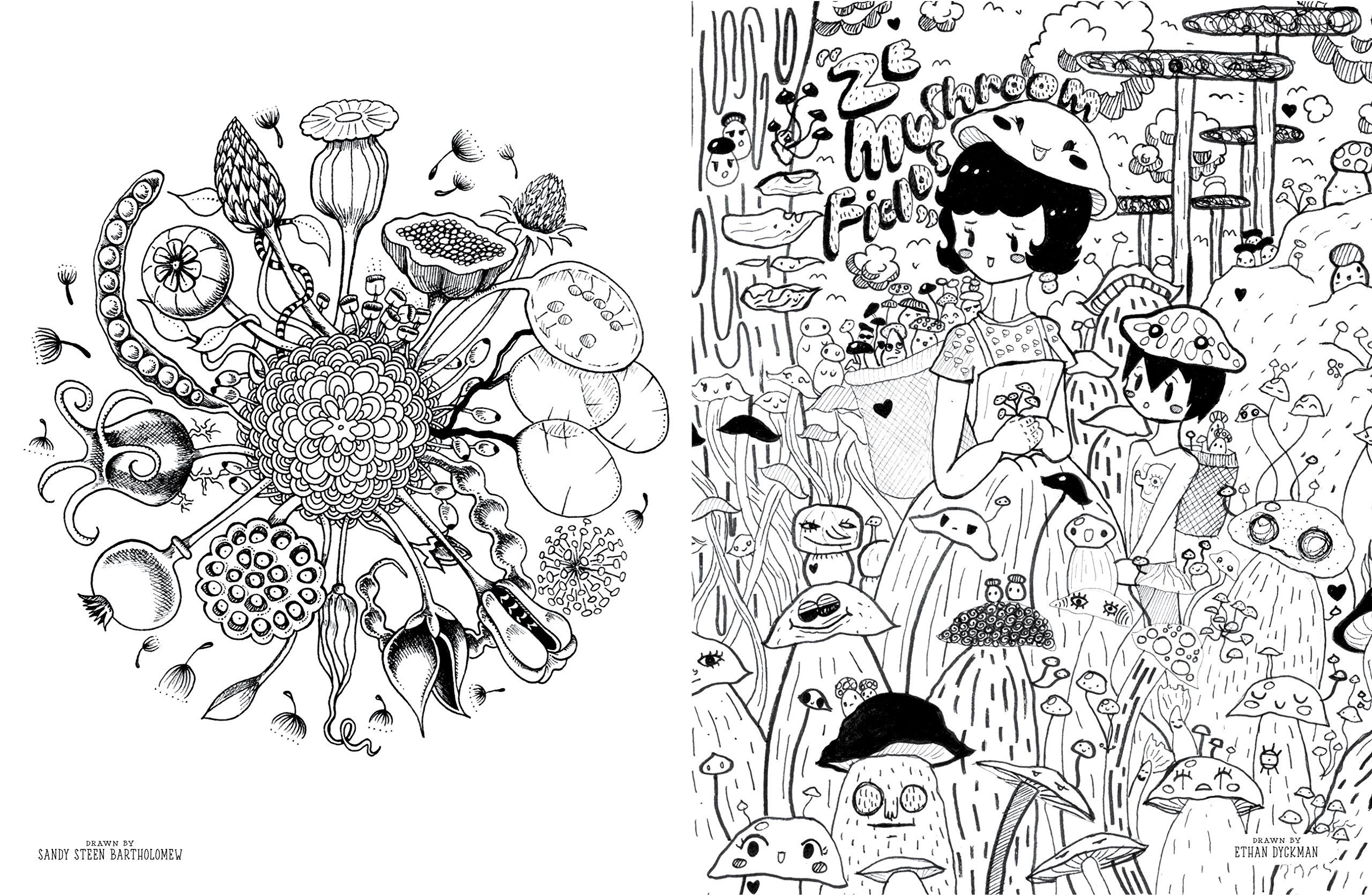 Buy Doodlers Anonymous Epic Coloring Book An Extraordinary Mashup Of Doodles And Drawings Begging To Be Filled In With Color Colouring Online
