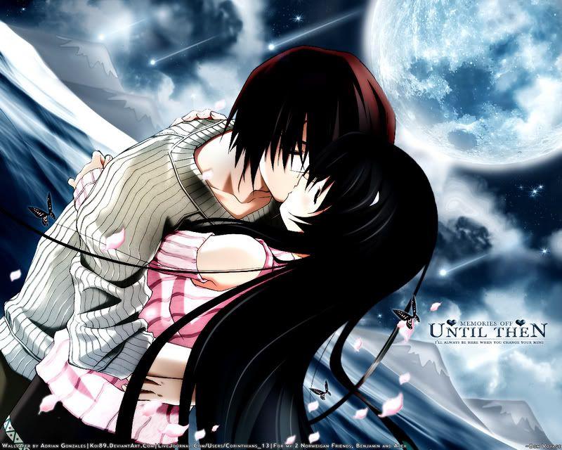 Pin By Emily Fisher On Anime Anime Couple Kiss Anime Wallpaper Anime