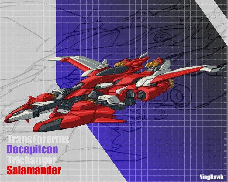 Salamander Jet mode