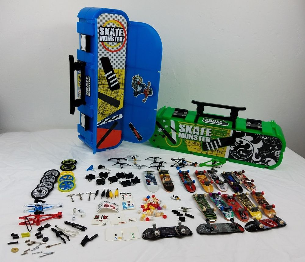 01960b6689 LOT Tech Deck Skate Boards Screws parts tools Tony Hawk Finger Board ...
