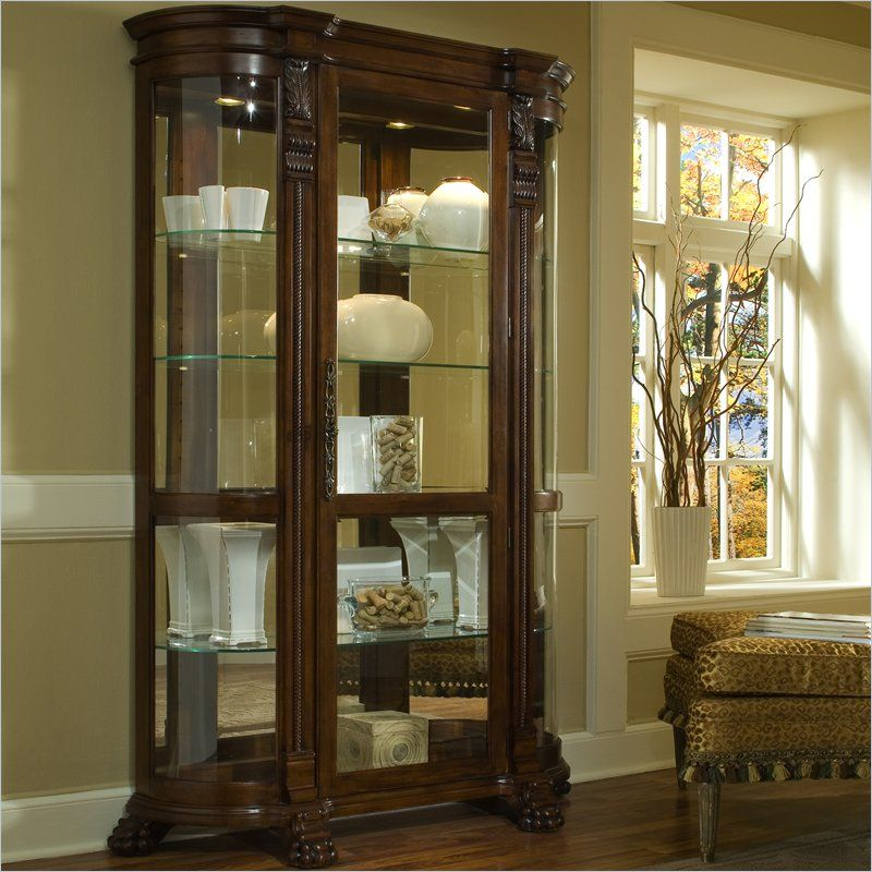 Shop The Pulaski Foxcroft Curio Cabinet Pulaski Furniture