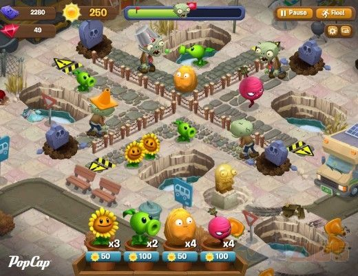 Baixar Plants Vs Zombies Adventures Download E Aqui No Zigg Zombies Plantas Vs Zumbis Plantas